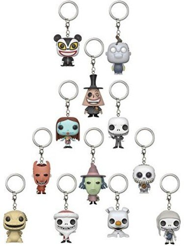 Funko The Nightmare Before Christmas - Mystery Keychains X24 ...