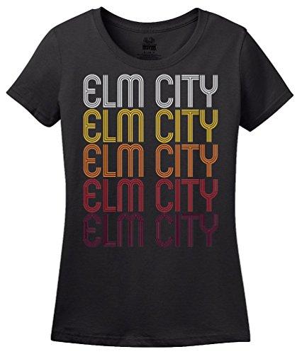 Elm City, NC | Retro, Vintage Style North Carolina Pride T-shirt