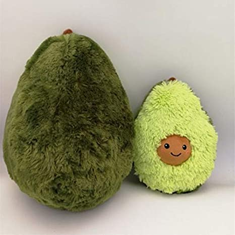 Puruitai Avocado Frutas Cute Plush Juguetes de Peluche mu/ñeca coj/ín Almohada para ni/ños ni/ñas beb/é ni/ñas
