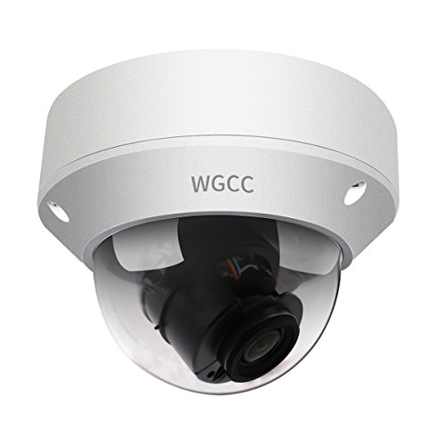WGCC 4 Megapixel Vari-focal WDR Zoom Dome IP Network Camera, IP67 weatherproof three-year quality assurance (2.8~12mm) by WGCC