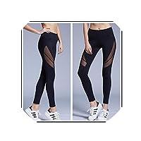 crystal004 Yoga Pants Women Leggings for Fitness Mesh Push Up Legging Booty Sport Tights Sportswear Running Legency,C007903,M