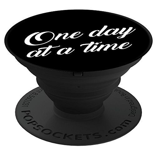 PopSockets Cell Phone Stands - Smartphones & Tablets -''Brave New Look One Day At a Time - Recovery'' by PopSockets