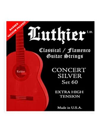 Luthier Concert Silver - Set 60 (Extra High Tension)