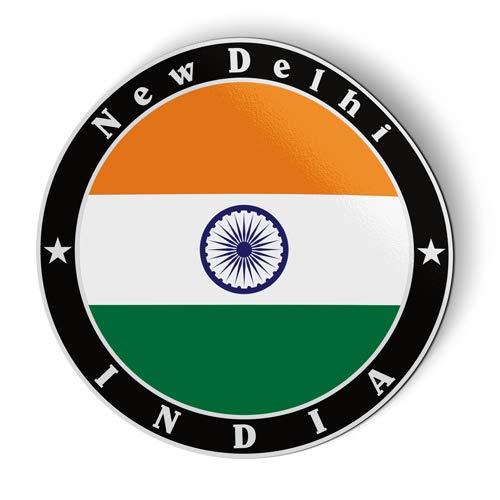 Stamp Refrigerator Magnet - India Flag - Flexible Magnet - Car Fridge Locker - 3