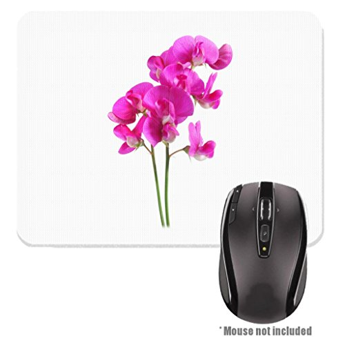 Sweet Pea Florist (Sweet Pea Flower Image Design Rubber Mouse Pad)