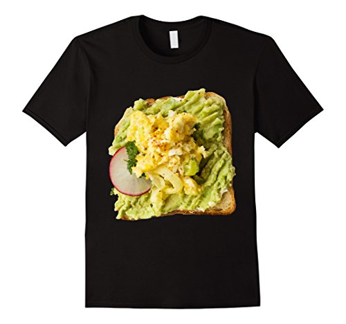 Mens Avocado Toast Halloween Costume Milennial House Funny Tee XL Black (Funny Halloween Toasts)