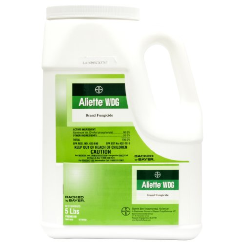 Aliette WDG Systemic Fungicide 5 LB with Aluminum Tris by Bayer