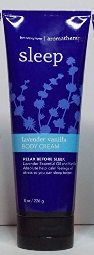 Bath and Body Works Aromatherapy Lavender Vanilla Body (Cream Bath)