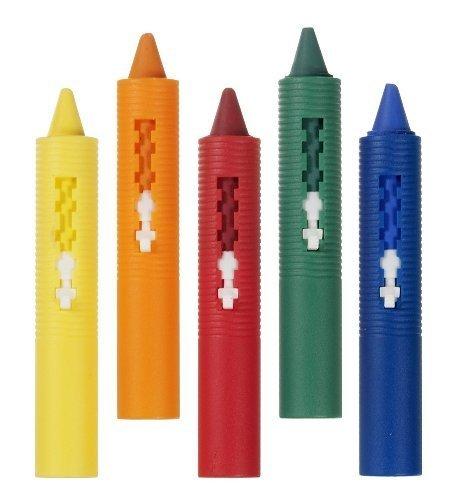 Munchkin 5 Piece Bath Crayons Set (Pack of 2) ()