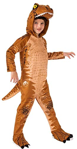Rubie's Jurassic World: Fallen Kingdom Child's T-Rex Oversized Jumpsuit Costume, Large -