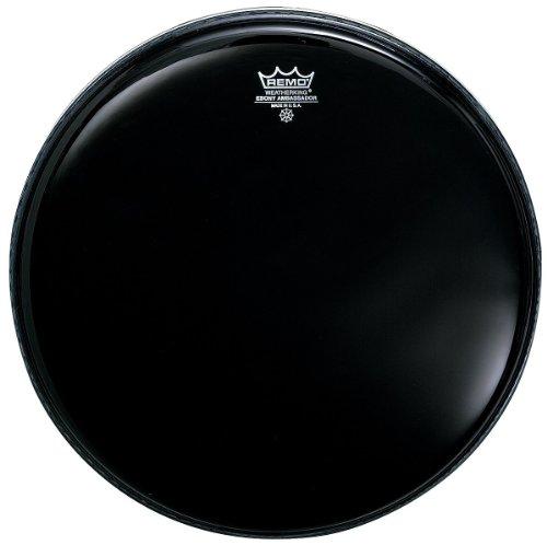 Remo ES001400 Ebony Ambassador Drum Head, 14-Inch