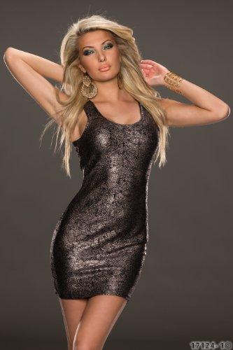 disponibles Argent Altsilber 34 36 2 en robe coloris pour sans 5750 taille manches mini Fashion4Young femme q6vwRSTB