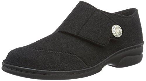 Berkemann Jarla Ladies Alte Pantofole Nere (nero 958)