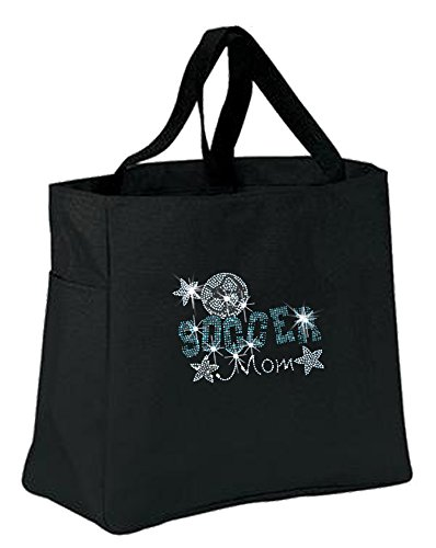 Soccer Mom Carry All Gameday Tote Bag Laptop Bag Handbag Purse