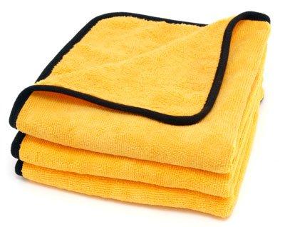Cobra Gold Plush Jr. Microfiber Towels 3 Pack