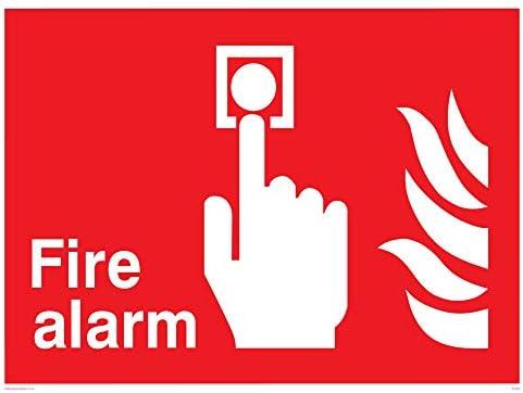 Viking signos fv353-a3l-3d alarma contra incendios señal, 3 ...