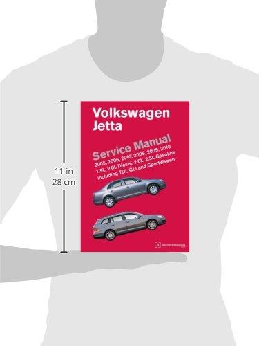 Volkswagen Jetta (A5) Service Manual 2005-2010: Amazon.es: Bentley Publishers: Libros en idiomas extranjeros