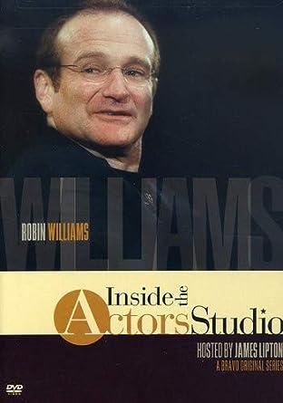cef7b3c1 Amazon.com: Robin Williams: Inside The Actors Studio: Robin Williams, James  Lipton, Jeff Wurtz: Movies & TV
