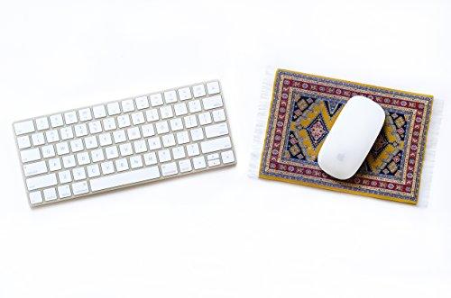 Oriental Carpet Mousepad - Authentic Woven Carpet - SAMARAKANT Design Photo #2