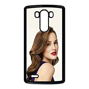 Celebrities Leighton Meester LG G3 Cell Phone Case Black phone component AU_470304