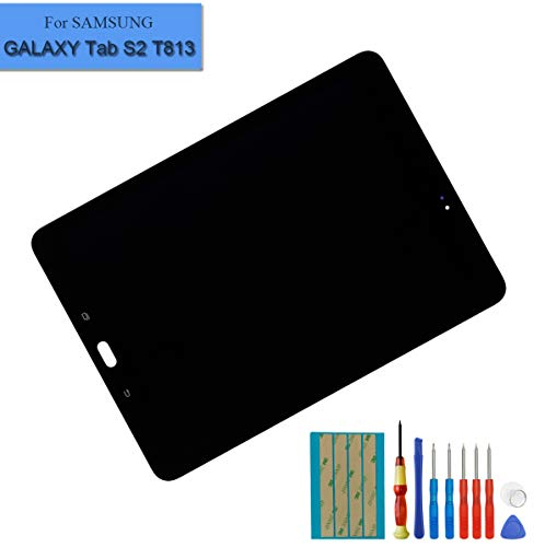 Replacement LCD Compatible with Samsung Galaxy Tab S2 9.7'' T810 T813 T815 T817 Display Digitizer Assembly Touch Screen (Black) + Tools by E-YIIVIIL (Image #5)