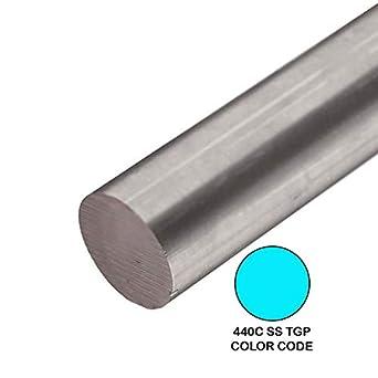 Amazon.com: Online Metal Supply 440C TGP Varilla redonda de ...