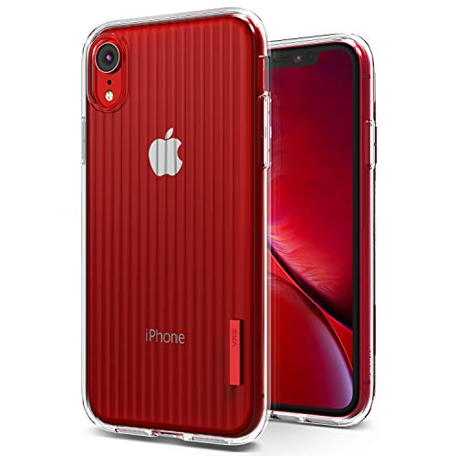 iPhone XR Case, VRS Design [Clear] Slim Full Body Protective [Crystal fit] Ultra Thin Compatible Apple iPhone Xr 6.1 inch (2018)