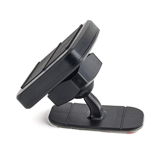 Dockem DashMini Magno Mount 3.0 Series; Magnetic Car Mount for Dash with Adhesive Base, Magnet Head, and Swivel Ball Socket