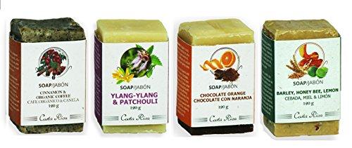 Monteverde Natural Cosmetics 4 soap kit: Cinnamon & Organ...