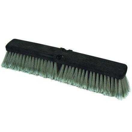 O-Cedar JAN110 18'' Light-Duty Push Broom Head (Pack of 12)