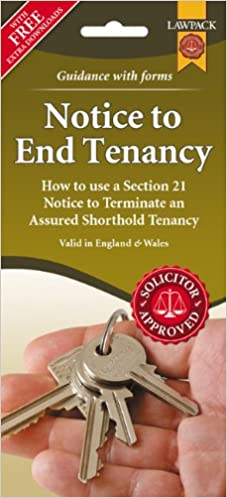 Notice to End Tenancy (Section 21 Notice for England & Wales