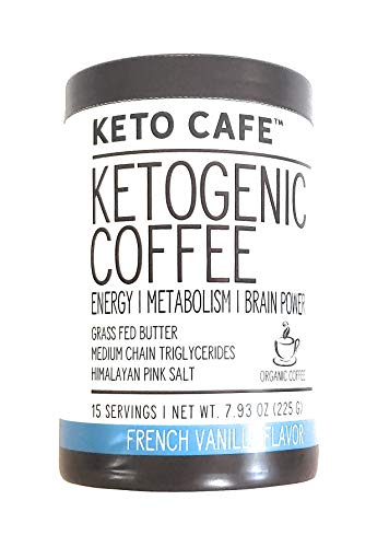 Keto Cafe Ketogenic Coffee French Vanilla Flavor