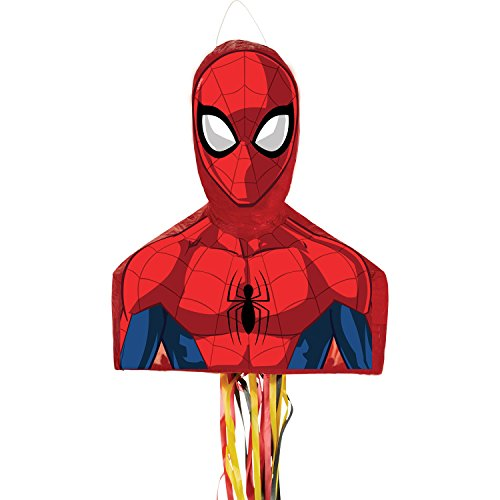 (Amscan 9903150 Spider-Man Pull String Piñata)