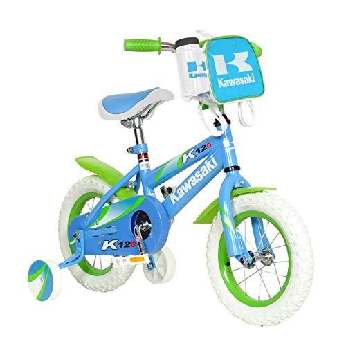 Kawasaki Monocoque Kid's Bike, 12 inch Wheels, 8 inch Frame, Girl's Bike, - Kawasaki Bike Girls