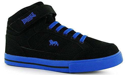 Lonsdale , Jungen Sneaker Schwarz / Blau