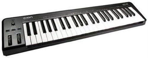 ION Audio Key-49 - Teclado MIDI (USB, Windows XP/Vista Windows 7 Mac OS9, Ableton LIve Lite)