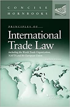 Book International Trade Law (Concise Hornbook Series) by Ralph Folsom (2014-06-30)