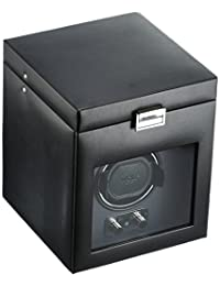 WOLF 270302 Heritage Module 2.1 Single Watch Winder with Cover and Storage