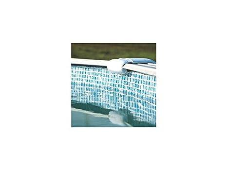 Gre FPROV737 - Liner para Piscinas Ovaladas, 730 x 375 x 132 cm (Largo x Ancho x Alto), Color Gresite: Amazon.es: Jardín