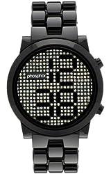 Phosphor Women's MD008L Swarovski Mechanical Digital Watch