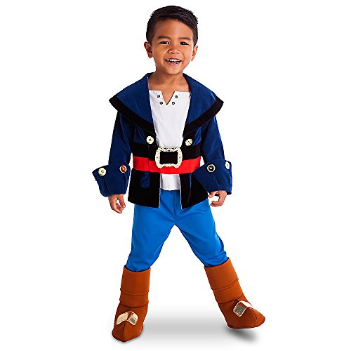 Disney Store Captain Jake & the Neverland Pirates Boys Costume Size 2 Toddler (2) (Jake Toddler Costume)