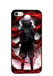 At-Baby Custom Japanese Anime Tokyo Ghoul Durable Phone Case Cover for iPhone 5 5S inch Laser Technology TT1
