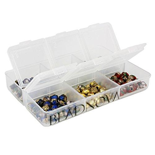6mm Cloisonne Beads (BEADNOVA 6mm Handmade Round Enamel Cloisonne Beads for DIY Jewelry Making Craft Loose Beads 120 Pcs Assortment Color Box Set (02))