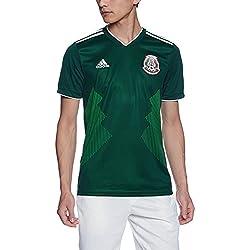 Jersey Oficial Selección de México Local para Hombre, Verde, Grande (L / 52 - 54 MX)