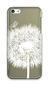 Online Designs Dandelion float PC Hard new case iphone 5c