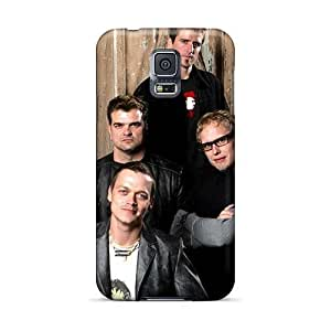 Durable Hard Phone Case For Samsung Galaxy S5 With Unique Design Attractive My Chemical Romance Band Image JasonPelletier