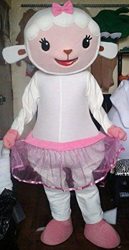 Handmade Doc McStuffins Lambie Mascot Costume Adult Costume (Adult Doc Mcstuffins Costumes)