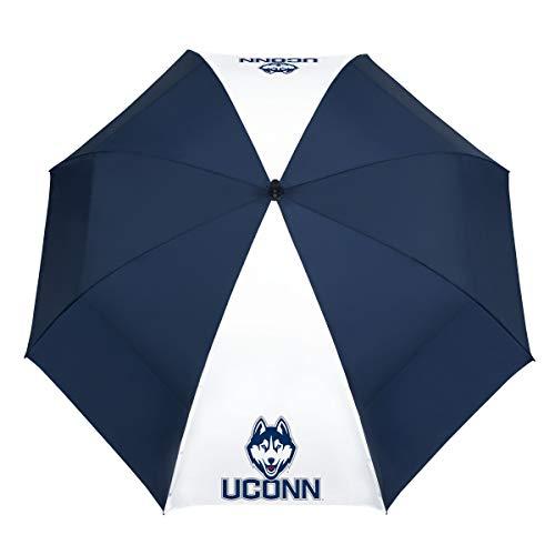 """Team Effort NCAA Connecticut Huskies 62"""" Windsheer Lite Golf Umbrella62 Windsheer Lite Golf Umbrella, Multi, NA"""