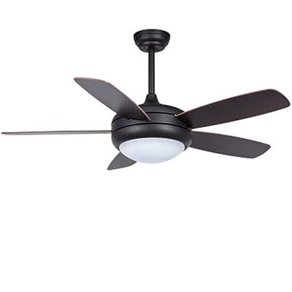 Amazon Com Xinle 42 In Black Walnut Integrated Led Indoor Flush