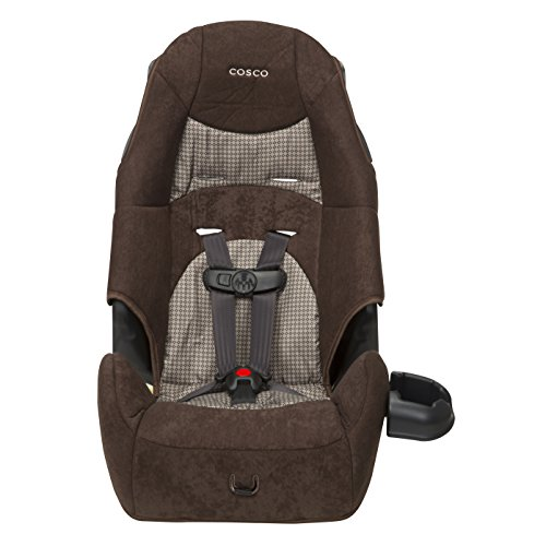 Price comparison product image Cosco - Highback 2-in-1 Booster Car Seat - 5-Point Harness or Belt-positioning - Machine Washable Fabric,  Falcon